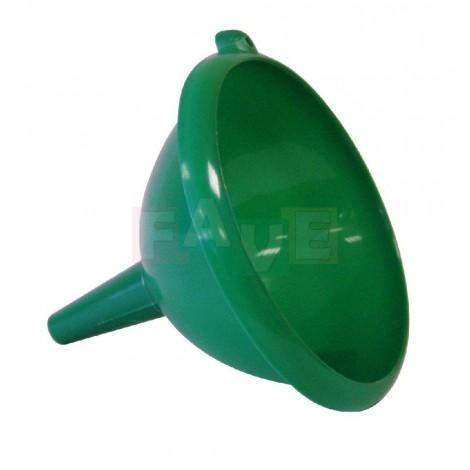 Trychtýř  20,5x23 cm  plast  mix barev
