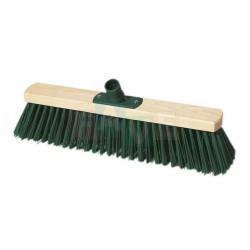 Smeták silniční  40x5 cm  chlup 8 cm  dřevo, plast, kov