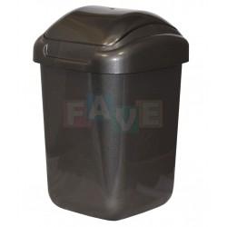Koš STANDARD výklopný šedý  54x35x29 cm  30 l  plast