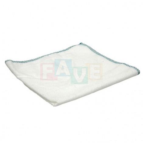 Prachovka flanelová bílá  35x40 cm