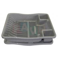 Odkapávač PLAFOR na nádobí  38x29x10 cm  plast  mix barev