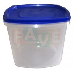 Dóza čtverec  16,5x16,5x13,5 cm  2,5 l  plast  mix barev