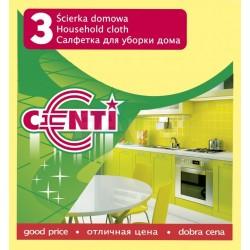 Utěrka CENTI domácí sada 3ks  30x35 cm  viskóza