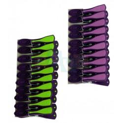 Kolíčky PRESTIGE 10 ks  7,4x1,5 cm  plast