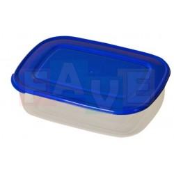 Dóza obdélník  19,5x14,5x5,5 cm  0,95 l  plast  mix barev