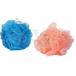 Žínka RŮŽE masážní  10x10 cm  20 g  plast  mix barev