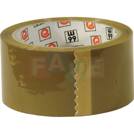Lepicí páska hnědá  5x6600 cm  plast