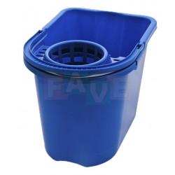 Kbelík + ždímač  37x25,5x27  15 l  plast  mix barev