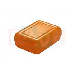 Krabička na mýdlo hladká  10,5x8x4 cm  plast  mix barev