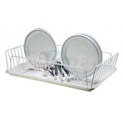 Odkapávač na nádobí  47x31x10 cm  drát, plast