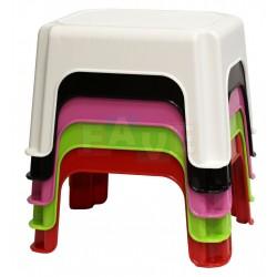 Stolička MINI  17,5x19,5x24,5 cm  plast  mix barev