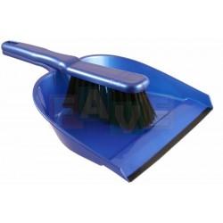 Smetáček + lopatka s gumou  29x20,5 23,5x4 cm  chlup 5 cm  plast