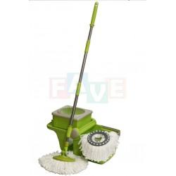 Souprava mopová PRESTIGE rotační, skládací  120x46x30 cm  plast, mikrovlákno, kov