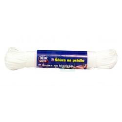 Šňůra WHITE prádelní 30 m  24x4 cm  PP