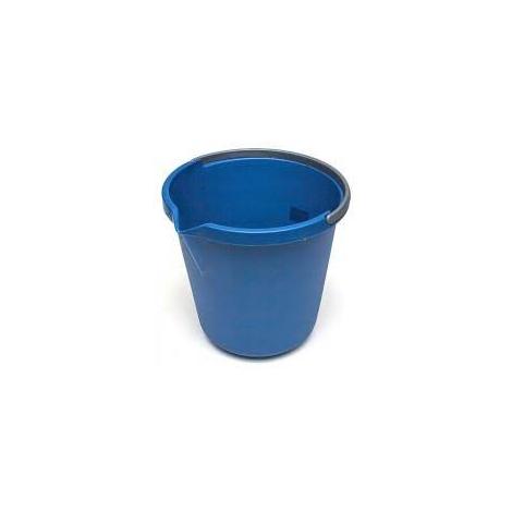 Kbelík JOLLY s výlevkou 10L  plast  modrý