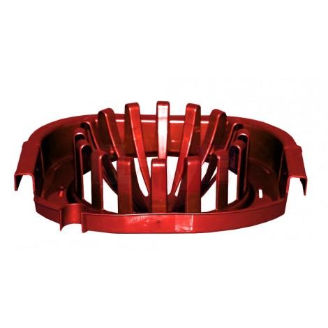 Ždímač BUENO  27x9x21 cm  plast, červený