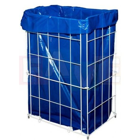 Koš odpadkový skládací  34x26,5x56 cm  60 l  kov