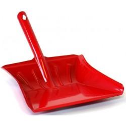 Lopatka kovová široká lakovaná  36,5x23,5 cm  kov, červená