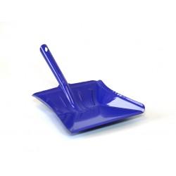 Lopatka kovová široká lakovaná  36,5x23,5 cm  kov , modrá