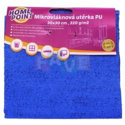 HP Mikrovlákno  30x30 cm  320 g, PU modrá
