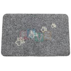 HP Rohožka TLAPKY černá  40x60 cm  guma koberec