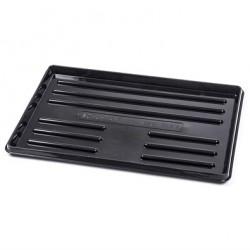 Odkapávač na boty  60x40 cm, černý,  plast