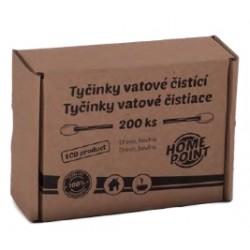 HP ECO Tyčinky vatové čistící 200 ks