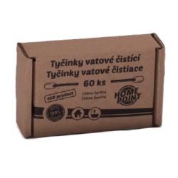 ECO Tyčinky vatové čistící 60 ks