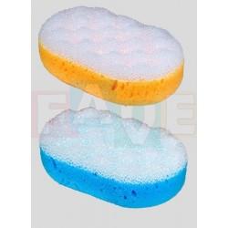 Houba AGÁTA koupelová masážní  14,2x9,2x4,8 cm  plast  mix barev