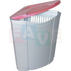 Koš BEN rohový  54x38x38 cm  45 l  plast   mix barev