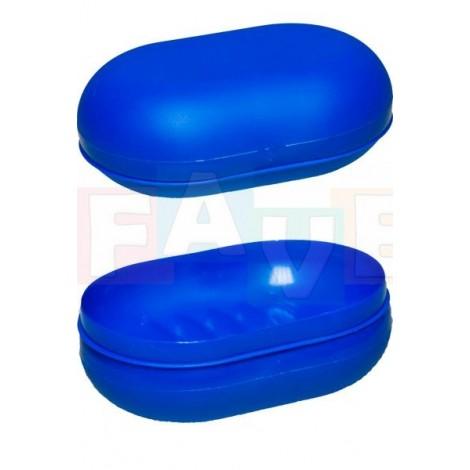Krabička na mýdlo CESTOVNÍ  12x8 cm  plast  mix barev