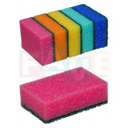 Houbička MAXI sada 5 ks  9,5x6,5x3 cm  polyuretan