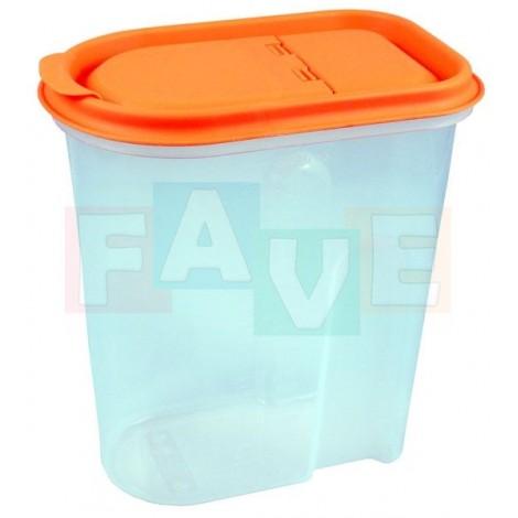 Dóza NIZA  18,5x11,5x20,5 cm  2 l  plast  mix barev