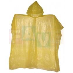 Pláštěnka PONCHO s kapucí, SLIM  90x105 cm  plast
