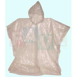 Pláštěnka DĚTSKÁ PONCHO s kapucou, SLIM  90x105 cm  plast