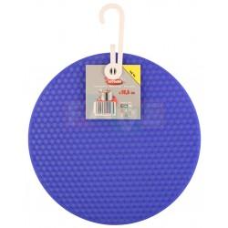 Podložka chňapka ROTONDO  18,5x0,6 cm  silikon  mix barev