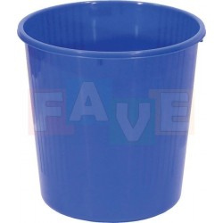 Koš odpadkový plný, modrý  27x27,5 cm  12 l  plast