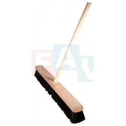 Smeták sálový s tyčí  150x40x5 cm  chlup 6 cm  dřevo, plast