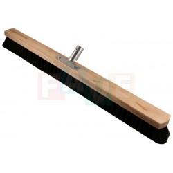 Smeták sálový s kovovým držadlem bez tyče  80x5,5 cm  chlup 6 cm  dřevo, kov, plast