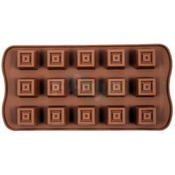 Forma SWEETTRUFFLE kostky na čokoládu, pralinky a bonbóny  24x10 cm  silikon
