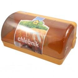 Chlebník PLAF s otočným krytem  40x24x17 cm  plast  mix barev