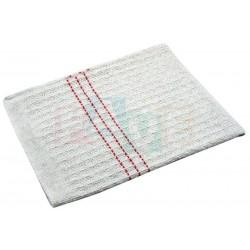 Hadr tkaný bílý vaflový  60x70 cm  textílie