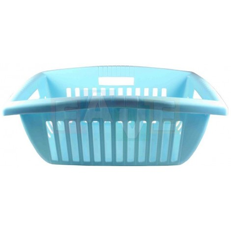 Koš BILLY na čisté prádlo  55x36x23 cm  plast  modrý