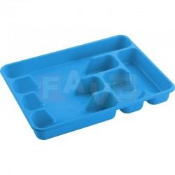 Příborník CLASIFICADOR XXL plný   39,5x29,5x5 cm  plast  mix barev