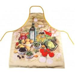 Zástěra ITALY kuchyňská  80x60 cm  polyester