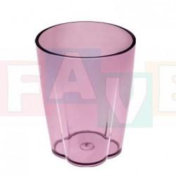 Sklenička MONO  10x7,5 cm  0,35 l  plast  mix barev