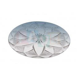 Podnos krystal kulatý  32x0,5 cm  plast