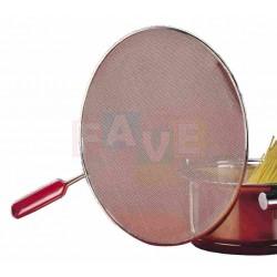 Ochranné síto na pánev  45,5x29x0,5 cm  kov, plast