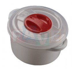 Hrnec do MVT kulatý  16x8 cm  1 l  plast