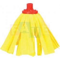 Mop páskový žlutý  bavlna, plast